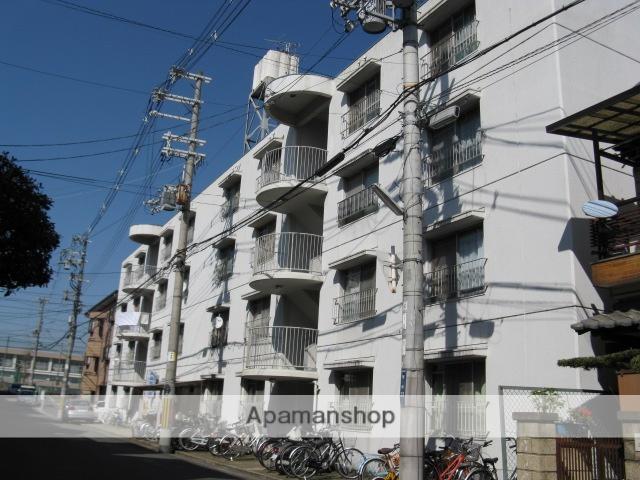 大阪府東大阪市、東花園駅徒歩18分の築38年 4階建の賃貸マンション