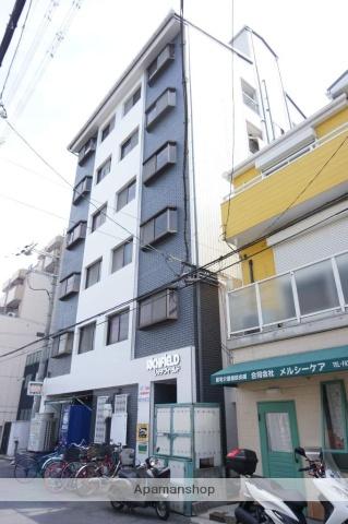 大阪府東大阪市、河内永和駅徒歩15分の築30年 6階建の賃貸マンション