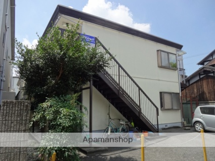 大阪府東大阪市、JR長瀬駅徒歩11分の築33年 2階建の賃貸アパート
