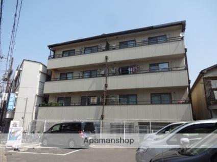 大阪府東大阪市、河内永和駅徒歩13分の築27年 4階建の賃貸マンション