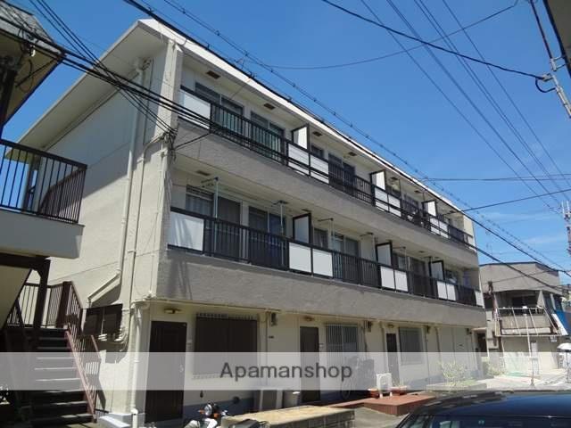大阪府東大阪市、河内花園駅徒歩12分の築40年 2階建の賃貸アパート
