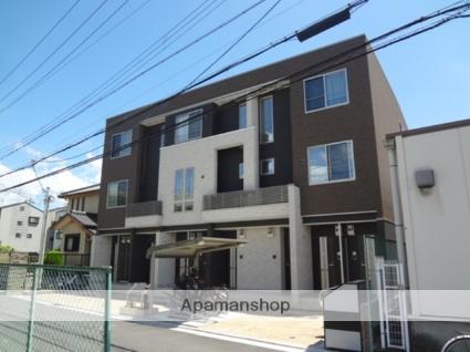 大阪府東大阪市、若江岩田駅徒歩13分の築2年 3階建の賃貸アパート