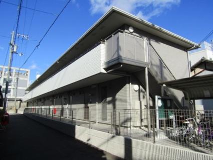 大阪府東大阪市、東花園駅徒歩22分の築1年 2階建の賃貸アパート