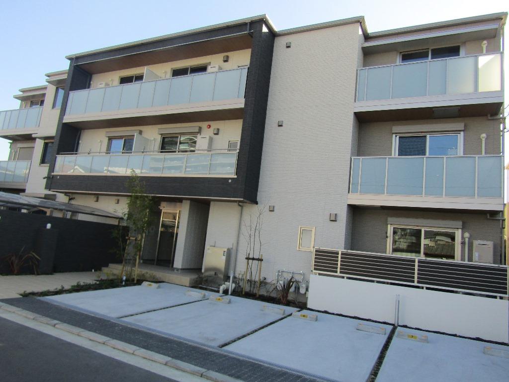大阪府東大阪市、JR俊徳道駅徒歩5分の新築 3階建の賃貸マンション