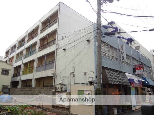 大阪府東大阪市、布施駅徒歩4分の築41年 4階建の賃貸マンション