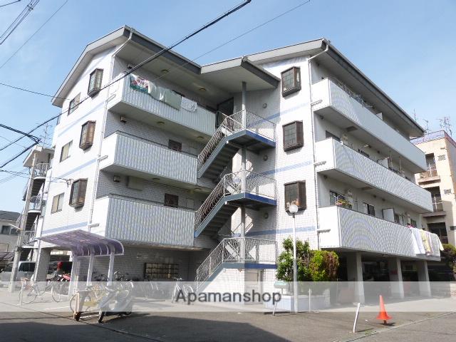 大阪府東大阪市、河内永和駅徒歩13分の築24年 4階建の賃貸マンション