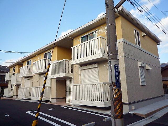 大阪府東大阪市、JR長瀬駅徒歩6分の築7年 2階建の賃貸アパート