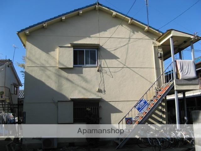 大阪府八尾市、久宝寺駅徒歩15分の築48年 2階建の賃貸アパート