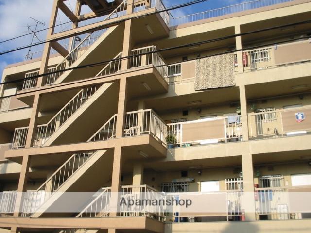 大阪府東大阪市、河内花園駅徒歩18分の築43年 4階建の賃貸マンション