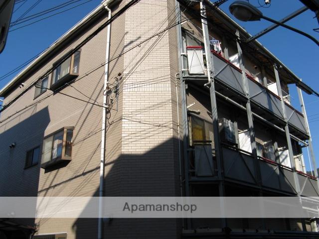 大阪府東大阪市、東花園駅徒歩25分の築25年 3階建の賃貸マンション