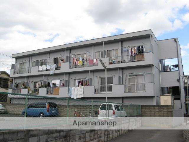 大阪府東大阪市、東花園駅徒歩19分の築35年 3階建の賃貸マンション
