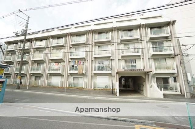 大阪府茨木市、茨木駅徒歩4分の築43年 5階建の賃貸マンション