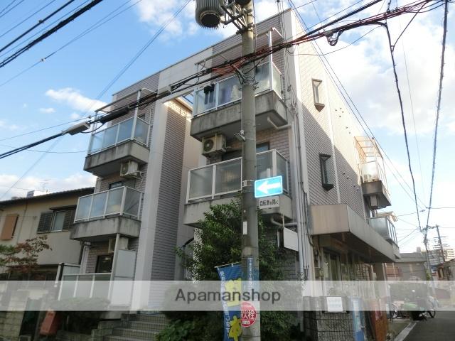 大阪府摂津市、千里丘駅徒歩5分の築24年 3階建の賃貸マンション