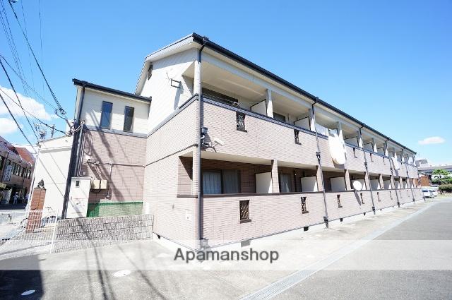 大阪府茨木市、茨木駅徒歩4分の築16年 2階建の賃貸アパート