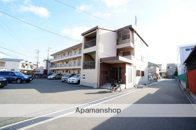 大阪府茨木市、千里丘駅徒歩12分の築31年 4階建の賃貸マンション