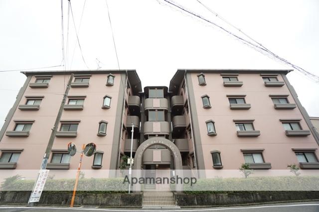 大阪府茨木市、茨木駅徒歩25分の築27年 4階建の賃貸マンション