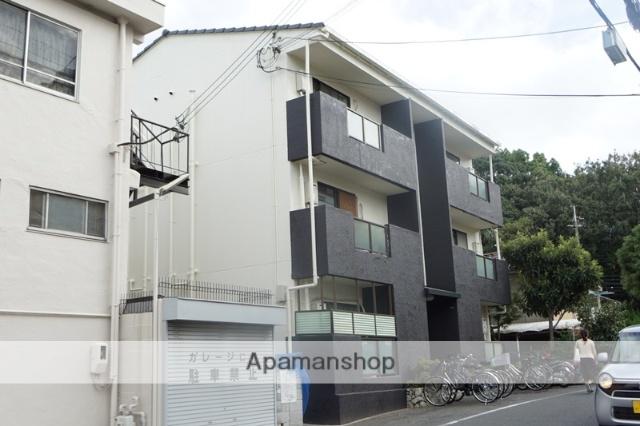 大阪府茨木市、茨木駅徒歩13分の築28年 3階建の賃貸マンション