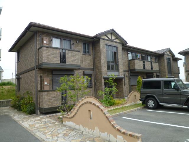 大阪府茨木市、彩都西駅徒歩8分の築9年 2階建の賃貸アパート