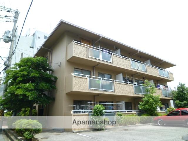 大阪府吹田市、茨木駅徒歩23分の築28年 3階建の賃貸マンション