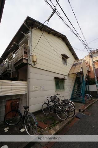 大阪府高槻市、高槻市駅徒歩22分の築33年 2階建の賃貸アパート