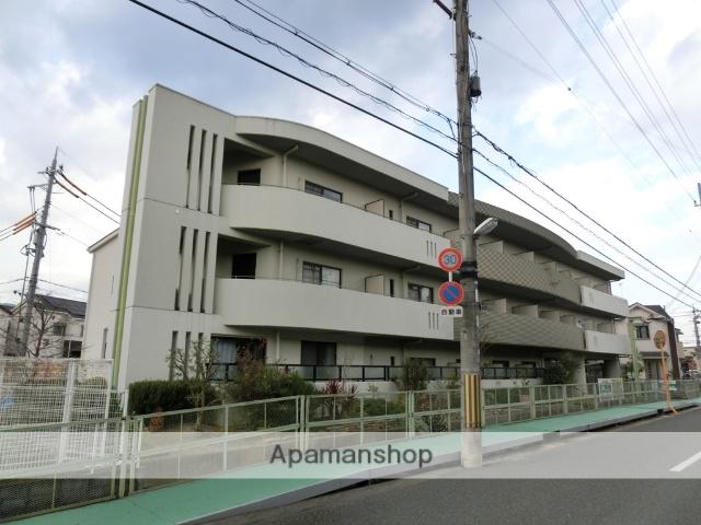 大阪府三島郡島本町、山崎駅徒歩20分の築23年 3階建の賃貸マンション
