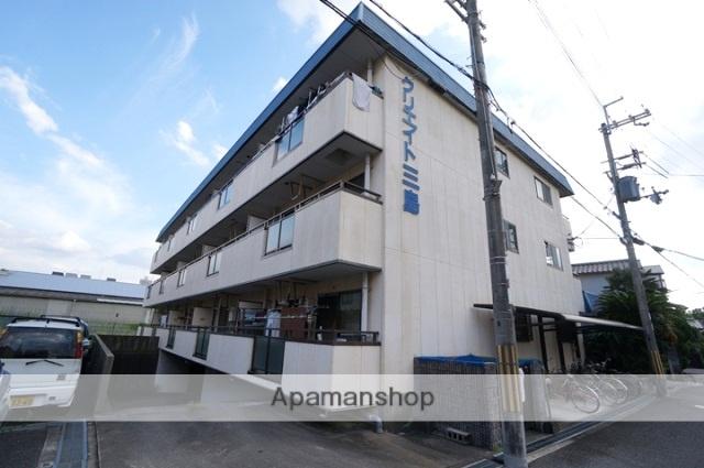 大阪府摂津市、正雀駅徒歩18分の築23年 3階建の賃貸マンション