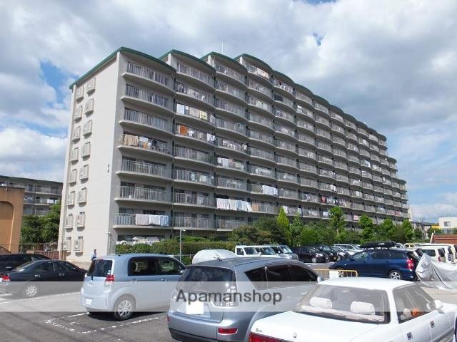 大阪府三島郡島本町、島本駅徒歩7分の築42年 11階建の賃貸マンション