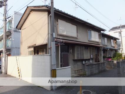 大阪府高槻市、摂津富田駅徒歩17分の築47年 2階建の賃貸テラスハウス