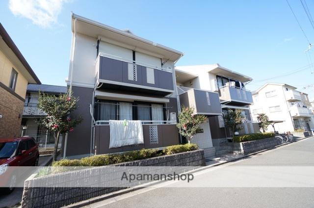 大阪府高槻市、摂津富田駅徒歩16分の築25年 2階建の賃貸アパート