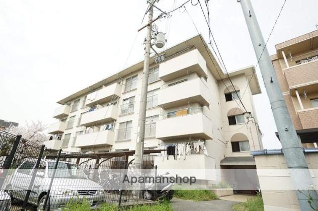 大阪府茨木市、茨木駅徒歩9分の築26年 3階建の賃貸マンション