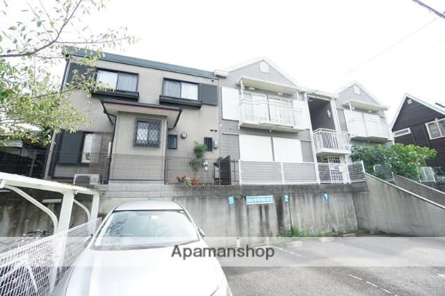 大阪府茨木市、公園東口駅徒歩19分の築28年 2階建の賃貸アパート