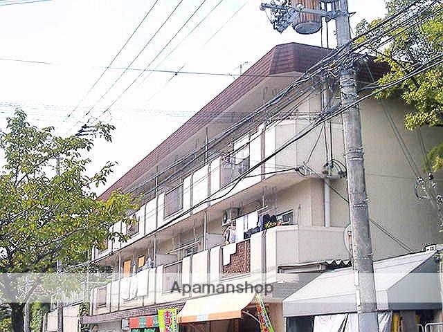 大阪府茨木市、公園東口駅徒歩16分の築39年 3階建の賃貸マンション
