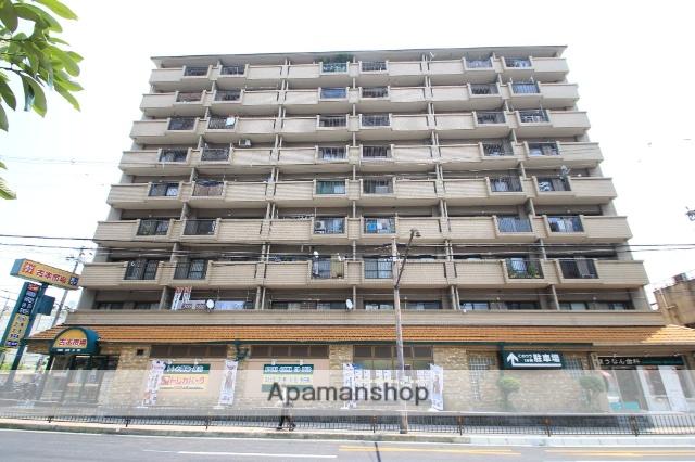 大阪府豊中市、三国駅徒歩26分の築30年 9階建の賃貸マンション