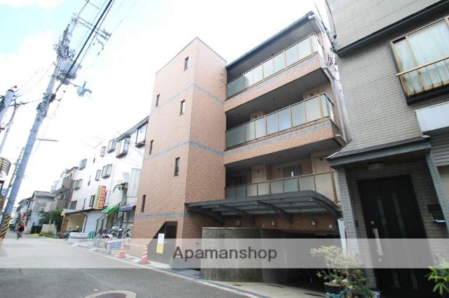 大阪府豊中市、庄内駅徒歩13分の築19年 4階建の賃貸マンション