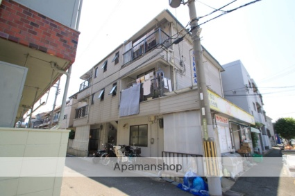 大阪府豊中市、庄内駅徒歩22分の築35年 3階建の賃貸マンション