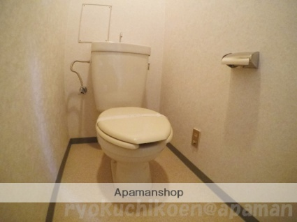ライオンズマンション緑地公園第10[1DK/27.74m2]のトイレ