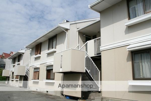 大阪府吹田市、千里山駅徒歩10分の築24年 2階建の賃貸アパート