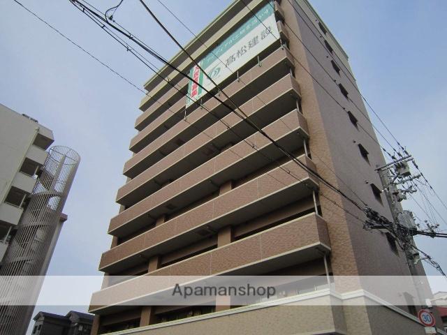 大阪府大阪市北区、福島駅徒歩13分の築4年 10階建の賃貸マンション