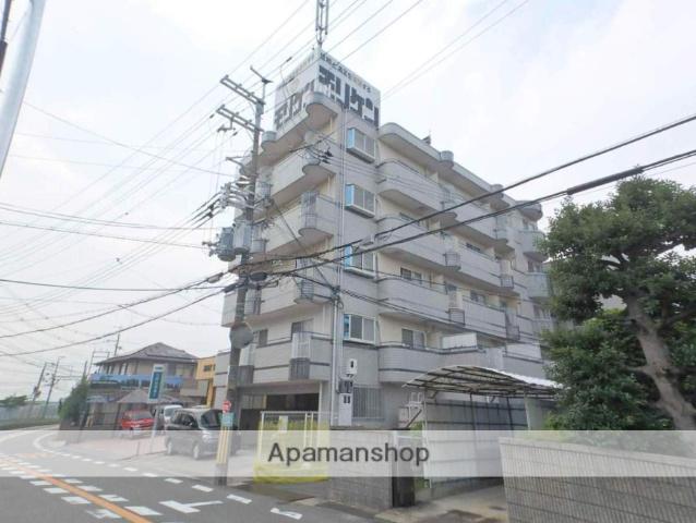 大阪府枚方市、星ヶ丘駅徒歩13分の築26年 4階建の賃貸マンション