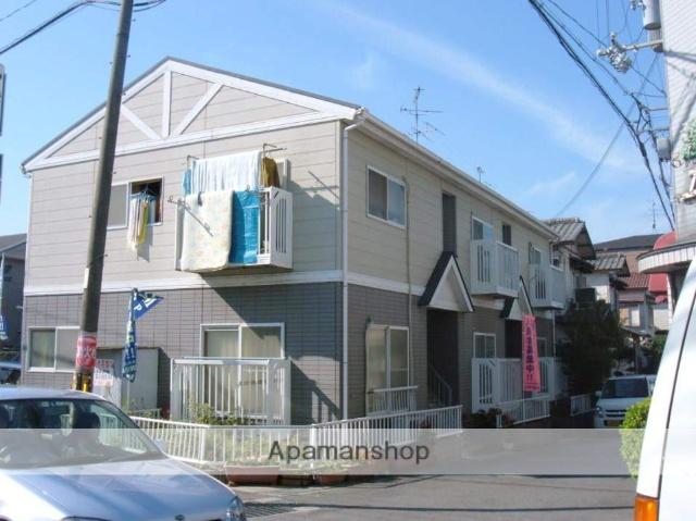 大阪府枚方市、藤阪駅徒歩23分の築20年 2階建の賃貸アパート