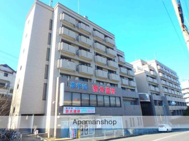 大阪府枚方市、長尾駅徒歩17分の築24年 7階建の賃貸マンション