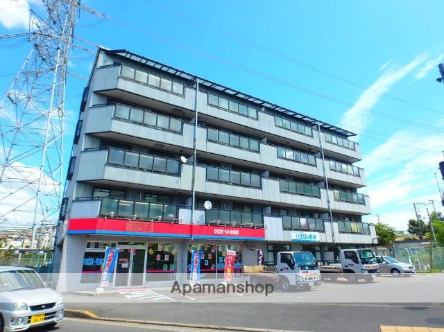 大阪府枚方市、藤阪駅徒歩23分の築22年 5階建の賃貸マンション
