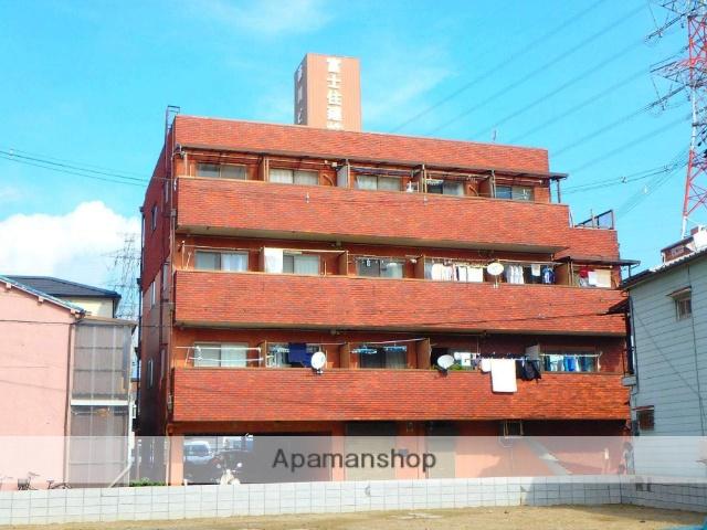 大阪府枚方市、牧野駅徒歩8分の築27年 4階建の賃貸マンション