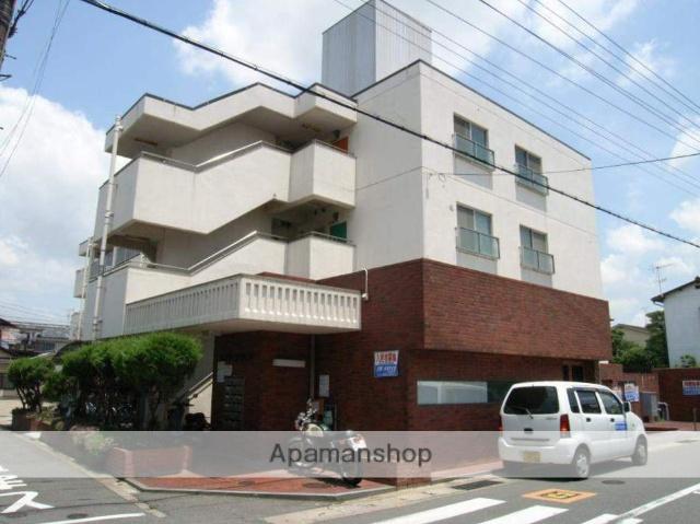 京都府八幡市、八幡市駅徒歩10分の築35年 3階建の賃貸マンション