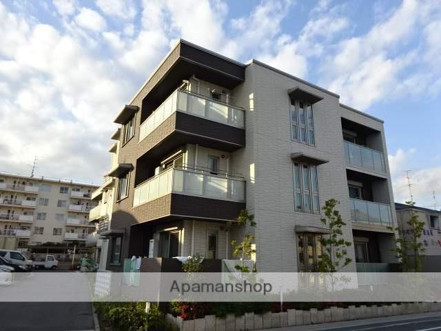大阪府枚方市、星田駅徒歩19分の築1年 3階建の賃貸マンション