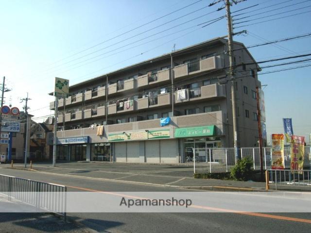 大阪府交野市、星田駅徒歩7分の築20年 4階建の賃貸マンション