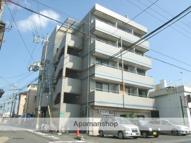 大阪府枚方市、藤阪駅徒歩23分の築26年 5階建の賃貸マンション