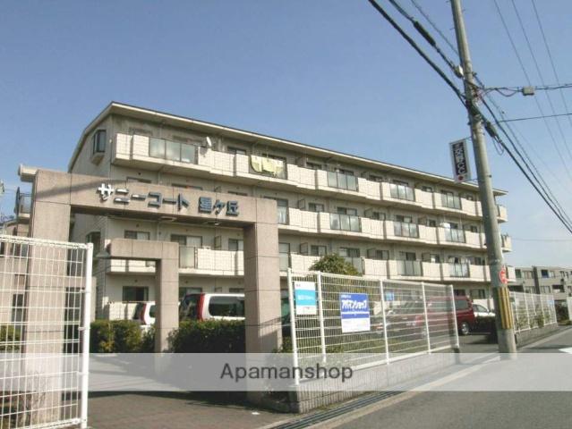 大阪府枚方市、宮之阪駅徒歩16分の築22年 4階建の賃貸マンション
