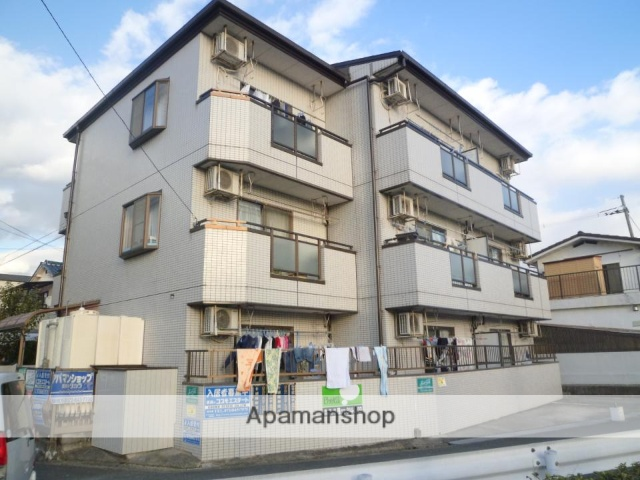 大阪府枚方市、御殿山駅徒歩7分の築26年 3階建の賃貸マンション