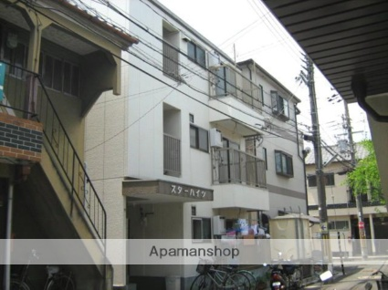 大阪府枚方市、御殿山駅徒歩10分の築28年 3階建の賃貸マンション